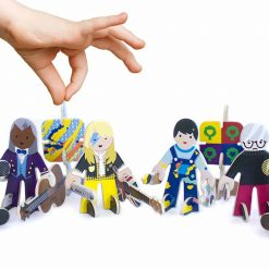 sustainable toy set talent show character set
