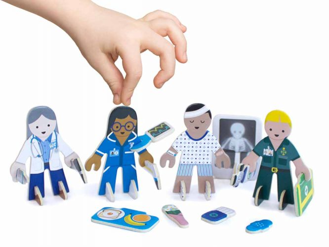 doctors and nurses imaginative play set