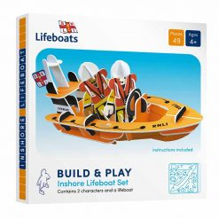 life boat toy set in box