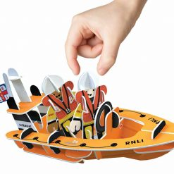 life boat toy being played with