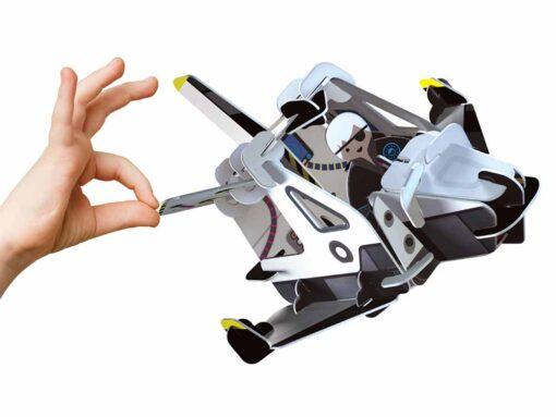 space range toy flying through air