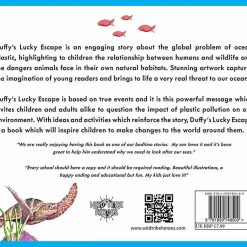 duffys lucky escape children's book back page