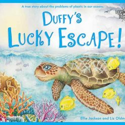 environmental children's book series duffy's lucky escape story