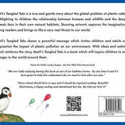 marlis tangled tale environmental children's book series back page