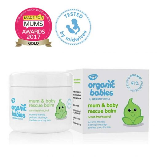 organic baby balm for mum and baby by green people