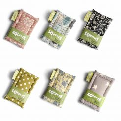 twin pack plastic free sponges in 6 different prints
