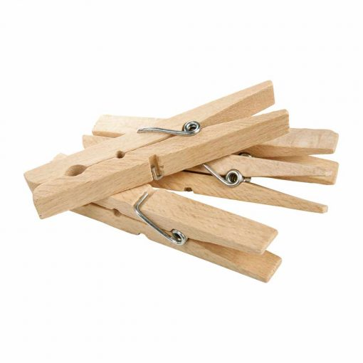 wooden clothes pegs 20 pack