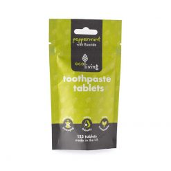 ecoliving toothpaste tablets 3 month supply