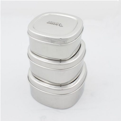 metal containers stacked on top of each other
