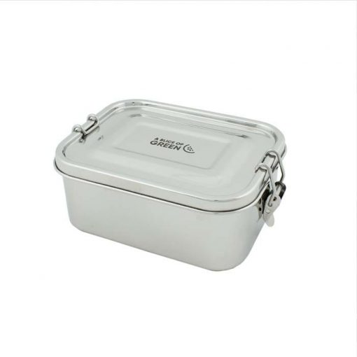 leak resistant lunch box made from stainless steel