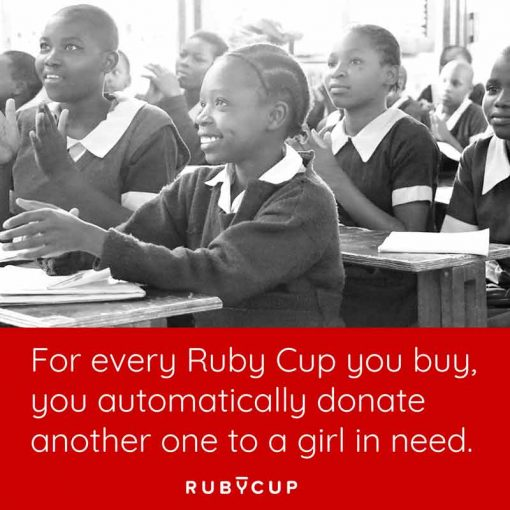 ruby cup buy one give one banner