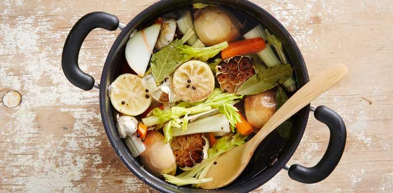 reuse leftover food scraps