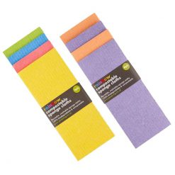 biodegradable sponge cloths in bright colours