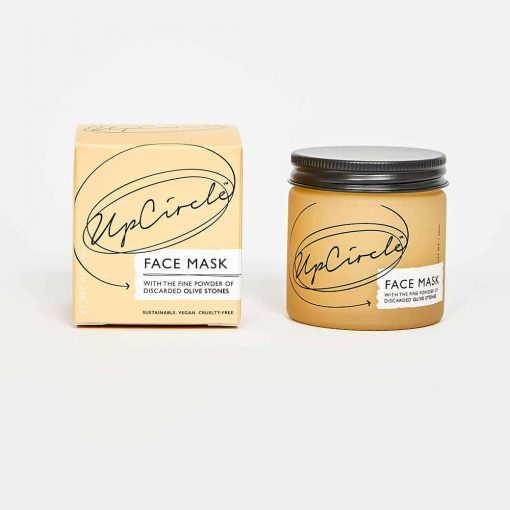cleansing face mask in glass jar