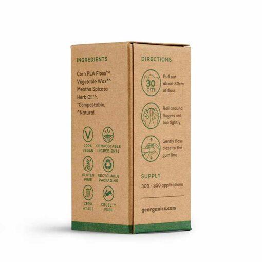 natural floss refill packaging