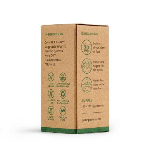natural floss packaging