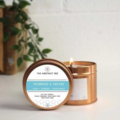 soy wax tin candle
