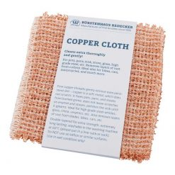 copper cloth in cardboard packaging