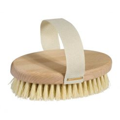 wooden massage brush