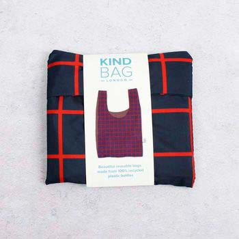 reusable shopping bag in a small pouch