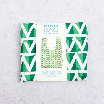 reusable bag in a pouch