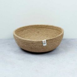 natural bowl made from jute