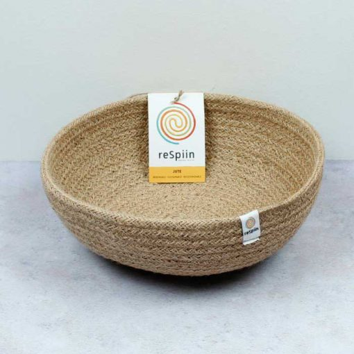 natural bowl with tag