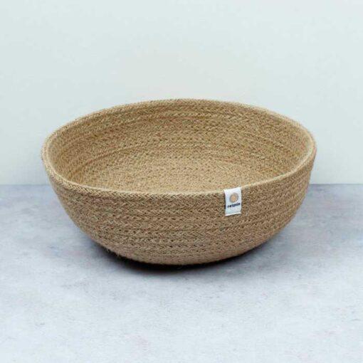 large jute bowl
