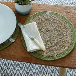 sustainable tablemat on a dining table