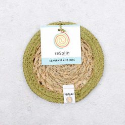 natural coaster made from seagrass
