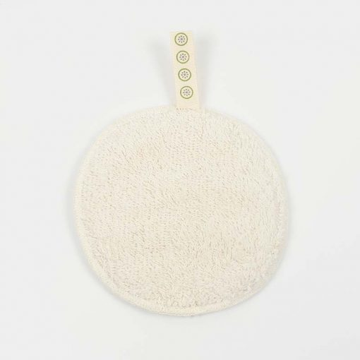large cotton facial pad with flannel side