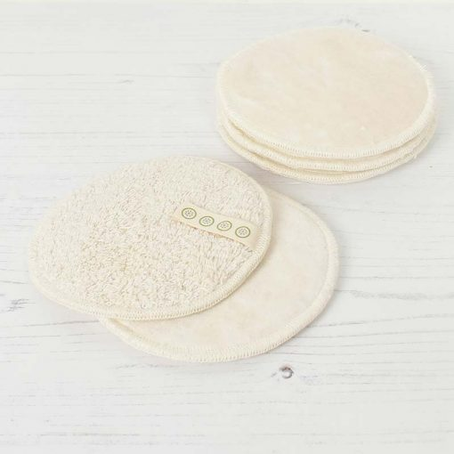 large cotton facial pads on a table