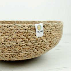 seagrass bowl with respin branding