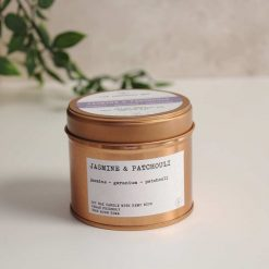 Natural Soy Candle in a copper tin