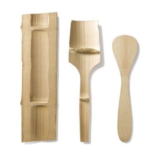 bamboo utensil process