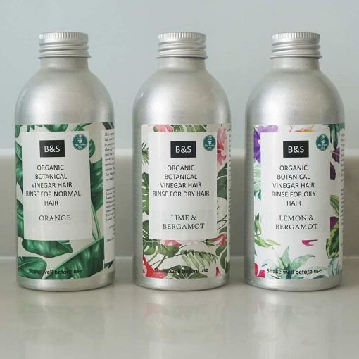 organic vinegar hair rinse
