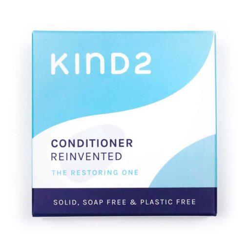 moisturising conditioner bar in packaging