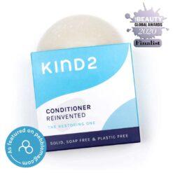 moisturising conditioner bar with award logos