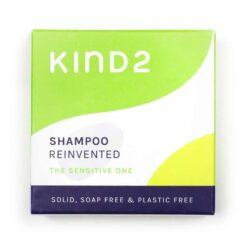 sensitive shampoo bar outer packaging
