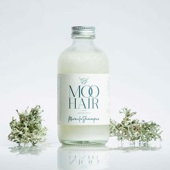 moo miracle shampoo with aluminium lid