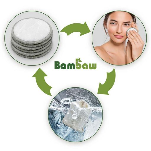 bambaw make up remover pads infographic