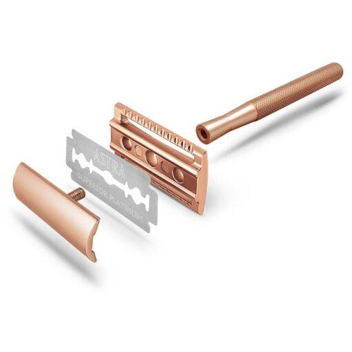 rose gold safety razor instructions