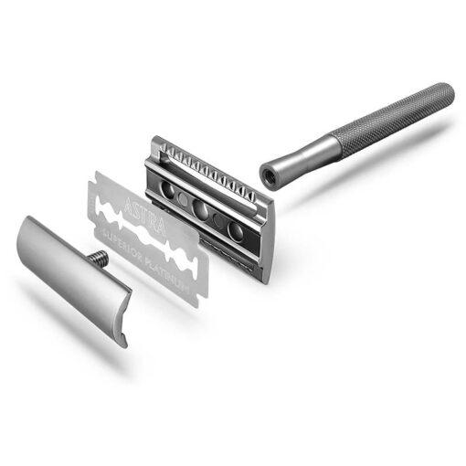 silver safety razor instructions
