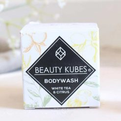 plastic free body wash in cardboard packaging