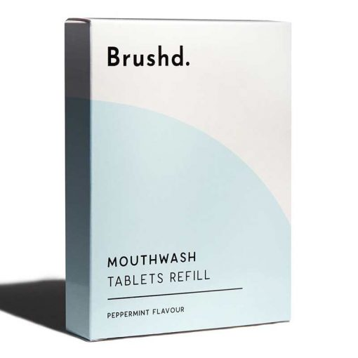 mouthwash tablet refills in peppermint