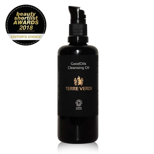 cleansing oil with award wining logo