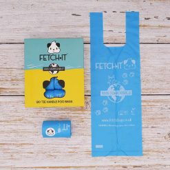 biodegradable poo bags with tie handles