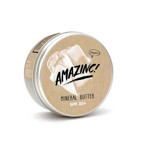 mineral butter in aluminium tin