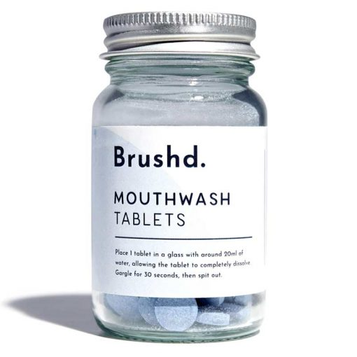 plastic free mouthwash tablets product shot