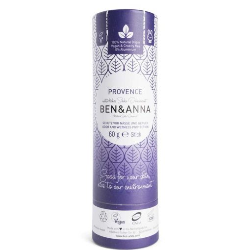 ben and anna natural deodorant in Provence scent